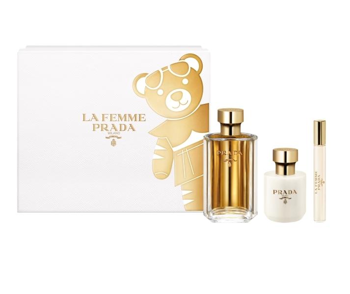 PRADALa Femme淡香精禮盒(淡香精100ml +身體乳100ml+隨行香氛10ml,NT5400