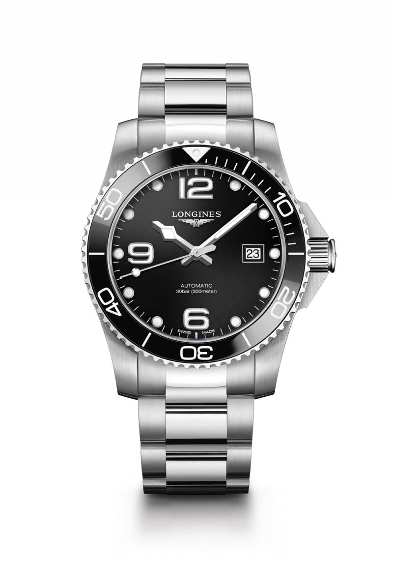 Longines 浪琴表HydroConquest深海征服者系列陶瓷圈腕錶 建議售價NT$51,900