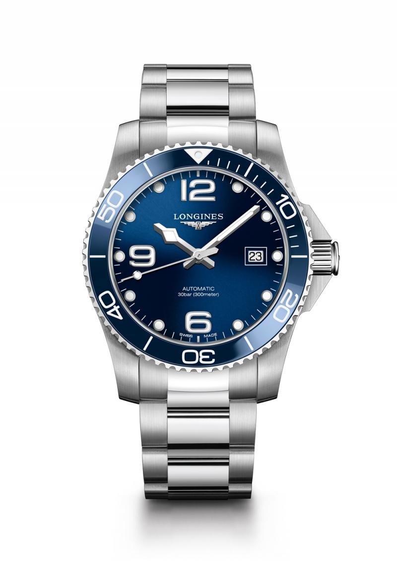 Longines浪琴表HydroConquest深海征服者系列陶瓷圈腕錶 建議售價NT$51,900