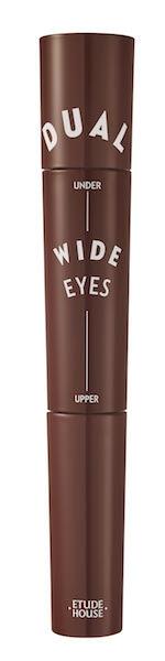 Etude House完美睫俏~上下零死角雙頭睫毛膏5g+3.5g,NT540 (#3玫瑰棕 x 玫瑰棕)