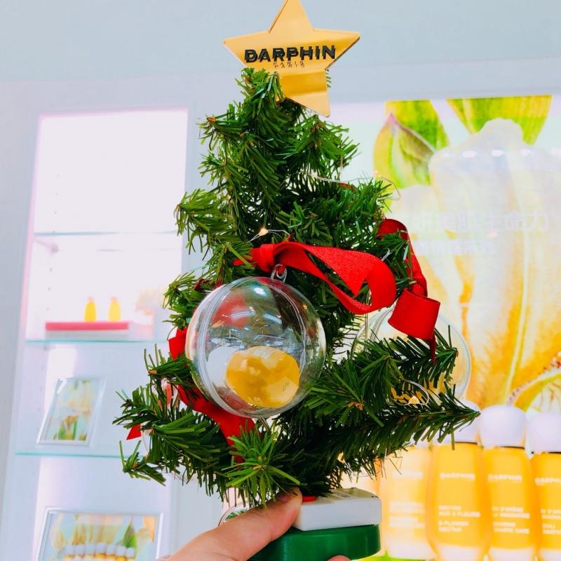 Darphin獨家訂製袖珍聖誕樹