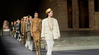Chanel 2018/19 Métiers d'Art 工坊系列,巴黎、紐約、埃及三地連線!