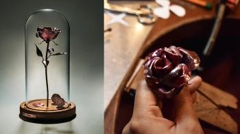 光在金工「永存之愛 Eternal Rose」課程—親手打造心意,真愛永不凋零!