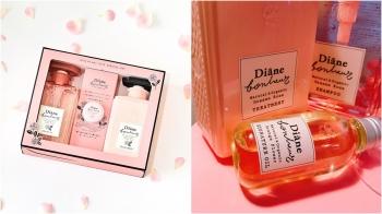 玫瑰系列還有2個隱藏版好物!Diane Bonheur玫瑰護髮油及禮盒才有的玫瑰指緣霜