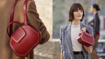 最夢幻的卡地亞紅色珠寶盒變成手袋!GUIRLANDE DE CARTIER系列包款 開箱看細節