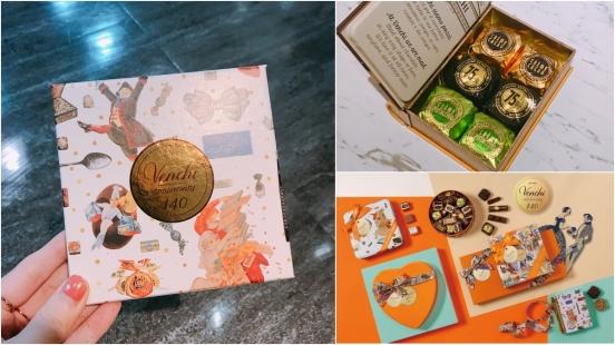 去義大利必買的巧克力抵台!Venchi選在SOGO復興館打造全台首間快閃店