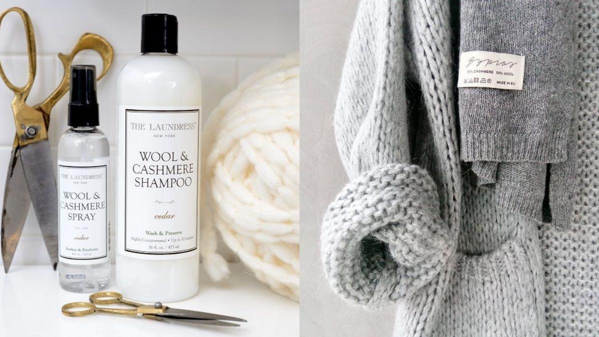 冬天毛衣怎麼洗?「五個程序」讓毛衣壽命增加!