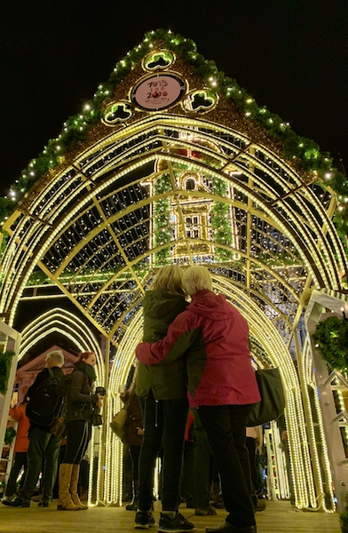 布拉格聖誕燈飾