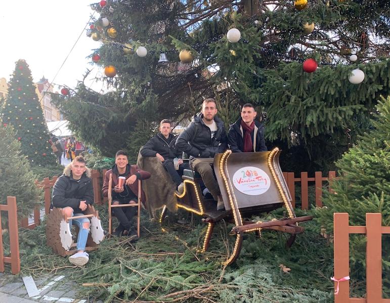 布拉格聖誕佈景