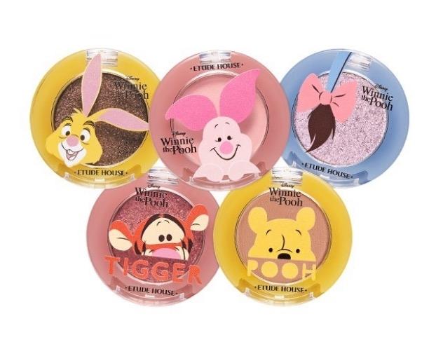Etude House X Disney Happy with Piglet珠光/高顯彩眼影,NT200