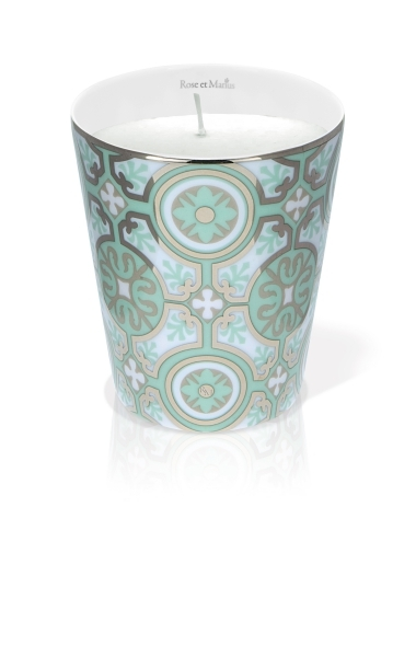 Rose et Marius優雅城堡綠頤鉑金香氛(骨瓷蠟燭杯+蠟燭100g),NT5,900