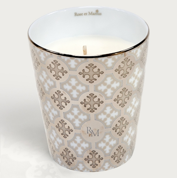 Rose et Marius新米色鉑金香氛(骨瓷蠟燭杯+蠟燭100g),NT5,900