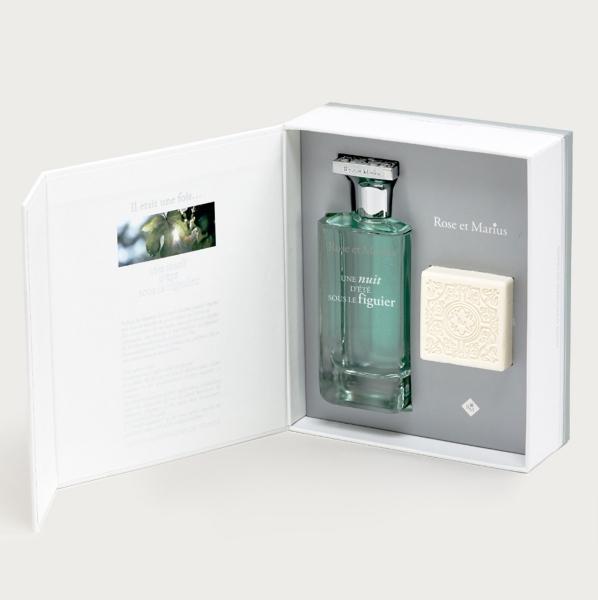 Rose et Marius無花果樹仲夏夜香氛組(香水100ml +香氛皂35g),NT6,600