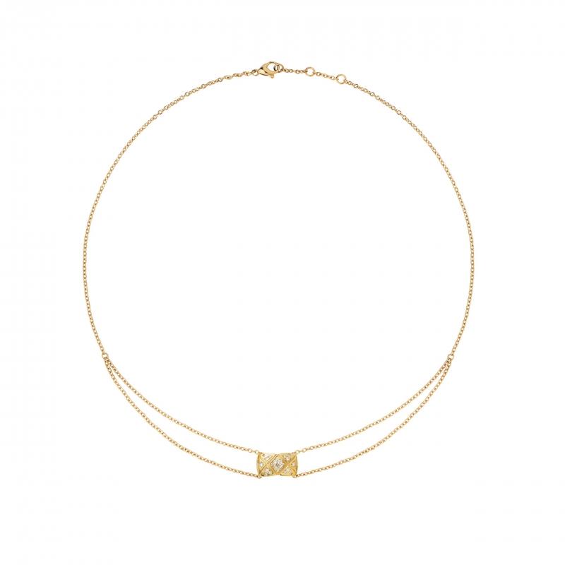 COCO CRUSH 18K黃金鑲嵌29顆明亮式切割鑽石項鍊