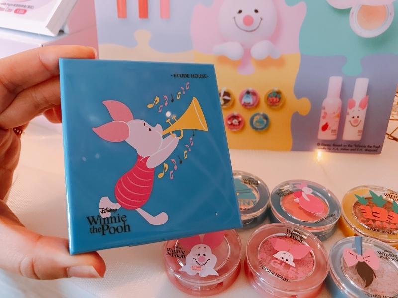 Etude House X Disney Happy with Piglet四格眼影盤,NT200