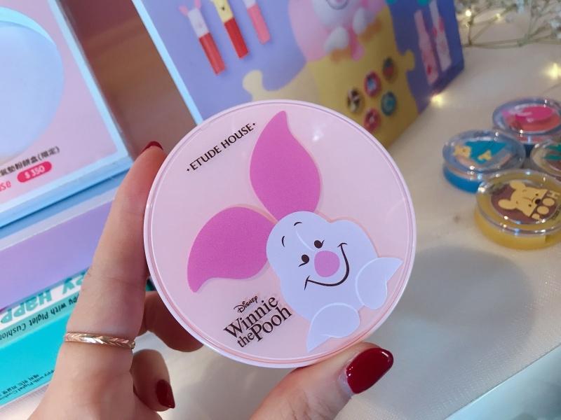 Etude House X Disney Happy with Piglet氣墊粉餅盒,NT350