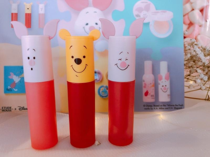 Etude House X Disney Happy with Piglet輕漾絲柔唇釉,NT450