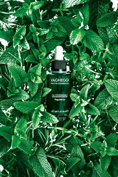 隱舍精油覺醒胸腹課程使用義大利VAGHEGGI的八輪芳香精油