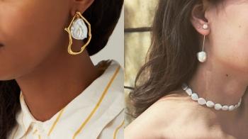 【珠寶小學堂】不完美最時髦!不規則造型巴洛克珍珠、粉紅色孔克珍珠、橙色美樂珍珠…的自然與美好