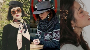 想要營造出女人味的休閒感,讓平時的穿搭有新奇感的秘訣,那就從「臉周裝飾」開始吧!