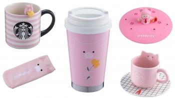 粉紅豬豬太可愛了啦!星巴克推出2019超萌豬年杯款,連粉紅控都心動了