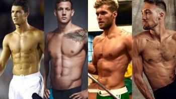世界誘人好身材運動員Top50,法國鮮肉、美國新泳將,每一個都超養眼!