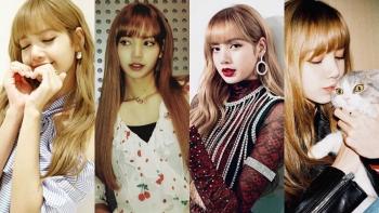 超過1300萬人追蹤!BLACKPINK Lisa 成為韓國新IG女王,不做作的美討人愛~