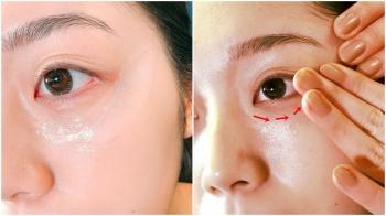 原來不一定得買眼膜,眼霜可以「一罐二用」!解救眼周乾紋,按摩前先薄敷1分鐘