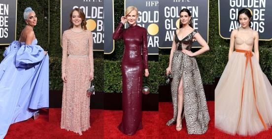 2019金球獎造型全紀錄!安海瑟薇、妮可基嫚、Lady Gaga…眾星雲集閃耀紅毯