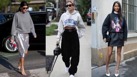不僅舒適也要穿的時髦有型!休閒風Hoodie&Sweatshirt的六大造型公式大公開!