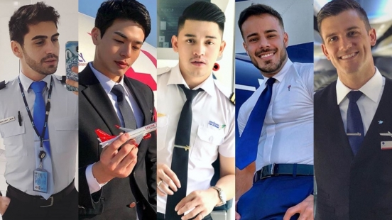 歡迎搭乘帥哥航空!從亞洲到歐洲,讓滿滿的機組帥哥豐富各位的旅行~
