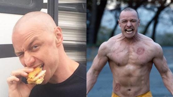 不只剃光頭、為了練肌肉每天早上吃八顆蛋!詹姆斯麥艾維《異裂》詮釋24個人格受盡折磨:「最傷神的就是野獸。」