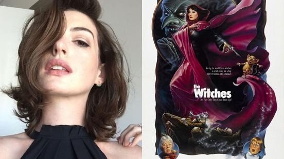 小孩們的夢靨!安海瑟薇將演出經典翻拍電影《女巫The Witches》,化身邪惡巫婆