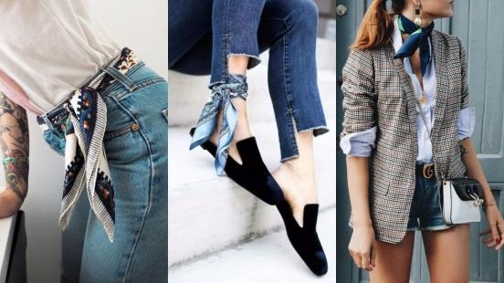 別小看「領巾」!它的實用小技巧大公開,增加穿衣時尚度不是問題!
