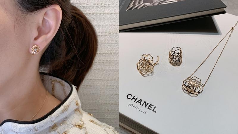Chanel《Bouton de Camélia》高级珠宝系列