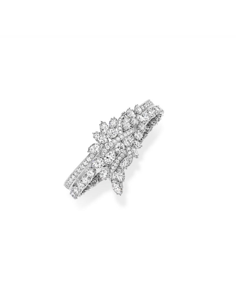 Harry Winston海瑞溫斯頓Secret Cluster鑽石手鍊