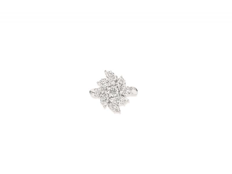 Harry Winston 海瑞溫斯頓Pirouette鑽石戒指
