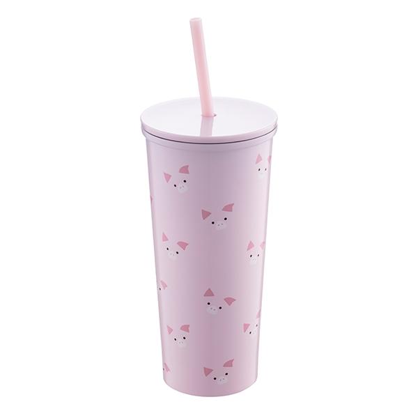 豬豬獻吉不鏽鋼Togo冷水杯,售價$900。容量:16OZ。