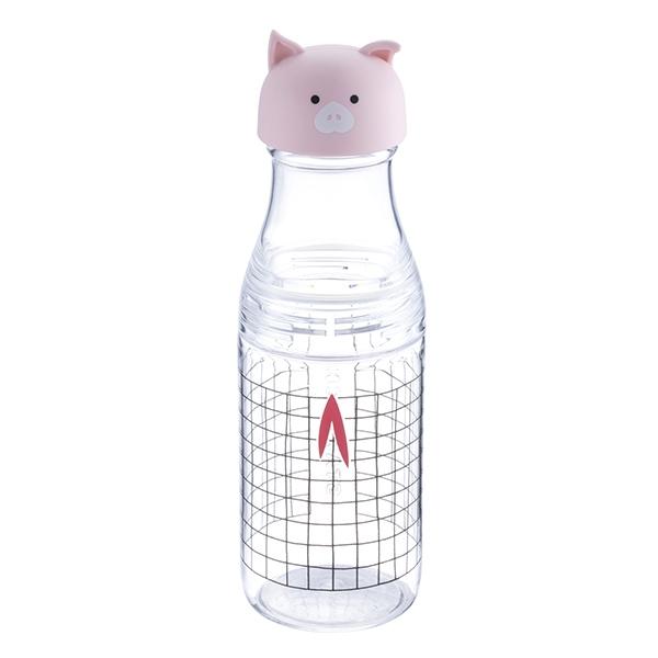 格紋小豬冷水壺,售價$500。容量:17OZ。