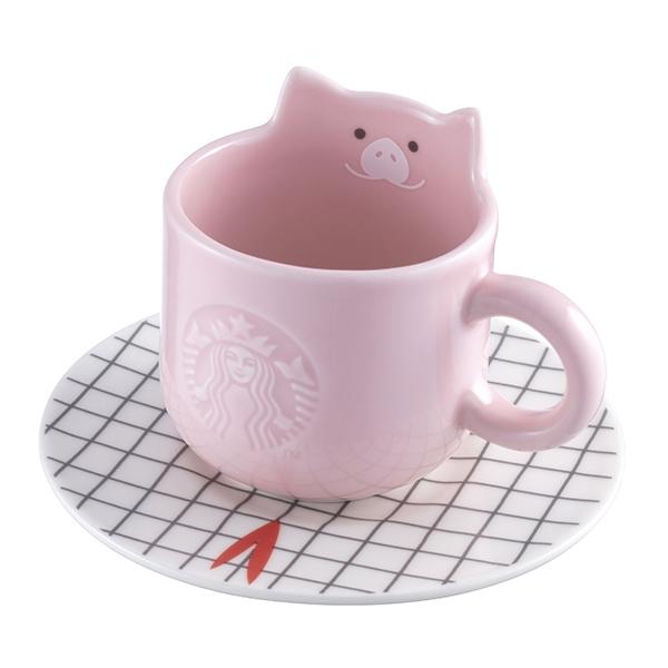 豬年吉祥杯盤組,售價$550。