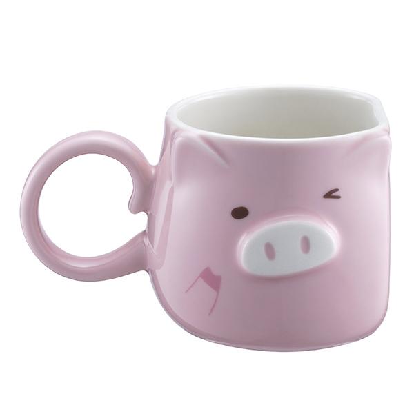 豬年麻吉對杯組,售價$1,150。容量:8OZ2。