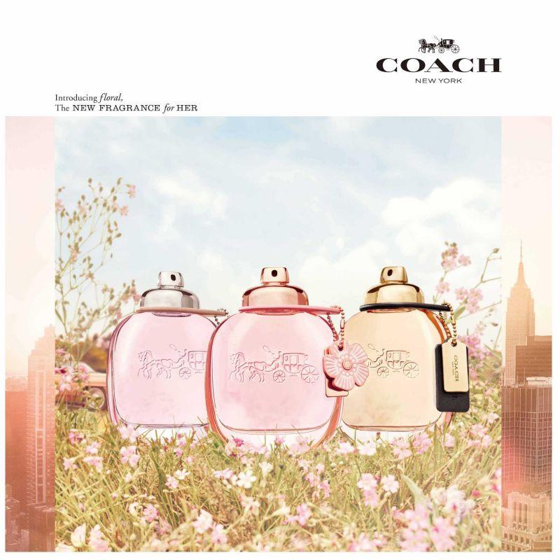 693362d7038a COACH芙洛麗淡香精3月將獨家於全台鋒恩香水專櫃上市,同時推出芙洛麗淡香精身體乳(NT1,200),讓茶香玫瑰帶給妳感動的3月春意香氛體驗。